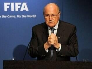 Técnico do Real, Ancelotti disse que Blatter (foto) foi desrespeitoso