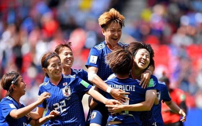 Seleção do Japão venceu a Escócia por 2 a 0