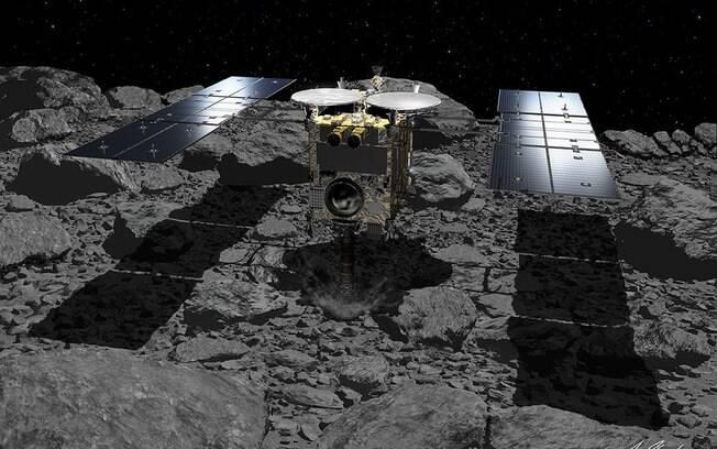 Pousos da sonda tinham como objetivo coletar amostras de rochas, inclusive sob a superfície