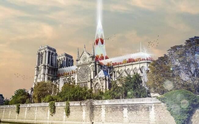 Projeto para a Catedral de Notre-Dame