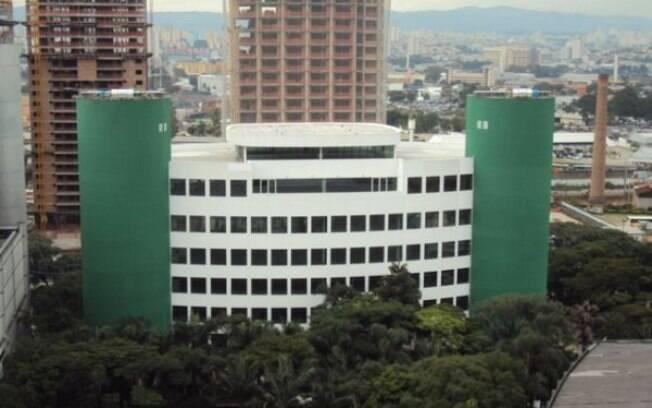 Parte, prevista da obra, um prédio multiuso  do Palmeiras já foi entregue