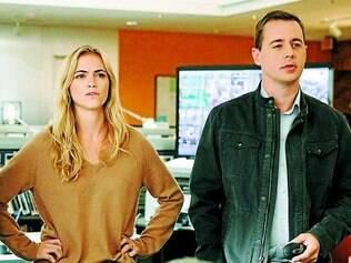 """Esquisitões. Emily Wickersham e Sean Murray fazem investigadores cheios de manias em """"NCIS"""""""