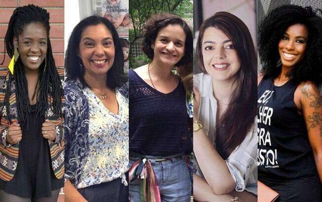 Ana Paula Xongani, Patrícia Camargo, Patrícia Marinho, Lia Camargo e Xan Ravelli falam sobre maternidade ao Delas