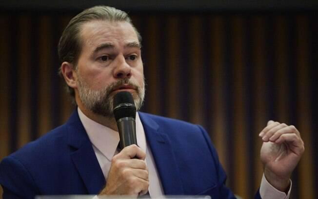 Presidente do STF, Dias Toffoli  falou sobre a influência das fake news na democracia