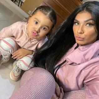 Pocah e a filha
