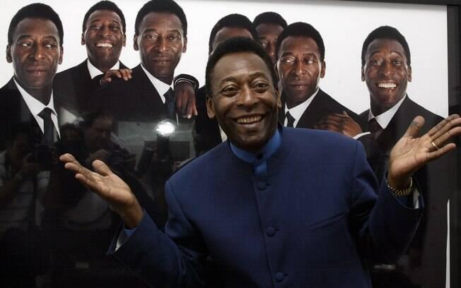 Em 1999, Pelé recebeu do COI (Comitê Olímpico Internacional)o título de Atleta do Século, mesmo sem nunca ter disputado as Olimpíadas. Foto: Getty Images