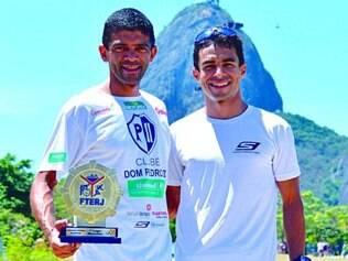 Parceria. Ernani Souza e Talles Medeiros irão disputar o Campeonato Brasileiro em Porto Alegre