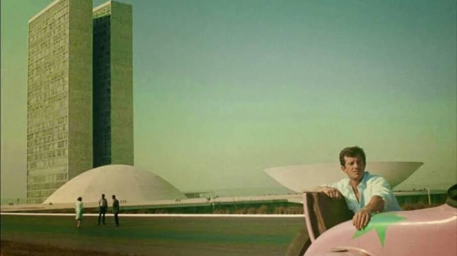 Jean-Paul Belmondo em Brasília