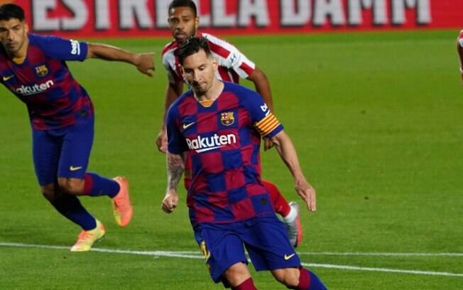 Messi chegou à marca de 700 gols na carreira