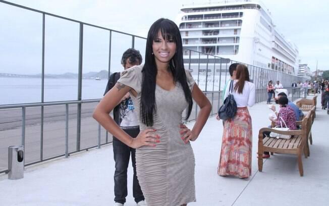 Ariadna participa de evento de moda
