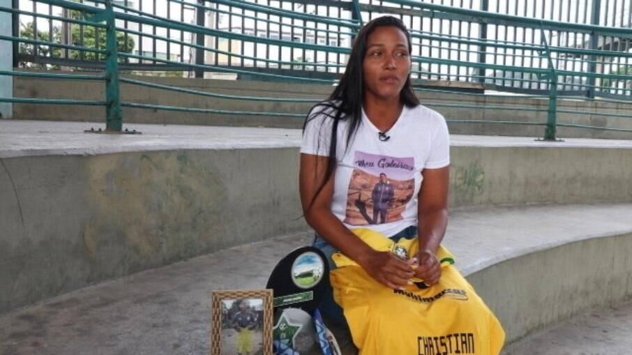Andreia de Oliveira, mãe de Christian, falou sobre tragédia do Ninho