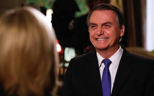 Jair Bolsonaro desembarcou nesse domingo nos Estados Unidos e terá reunião amanhã com Donald Trump