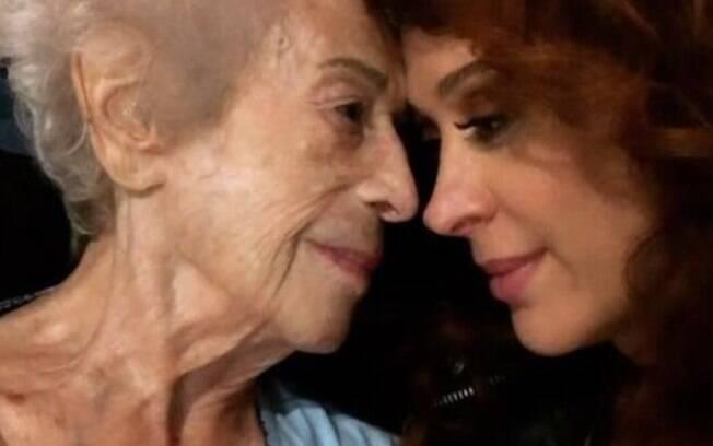 Odette, mãe de Claudia Raia, morreu nesta quarta-feira (20), aos 95 anos