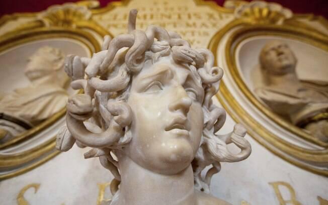A Cabeça de Medusa de Bernini é um dos tesouros dos Museus Capitolinos