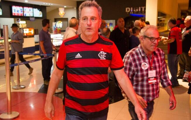 Rodolfo Landim, presidente do Flamengo