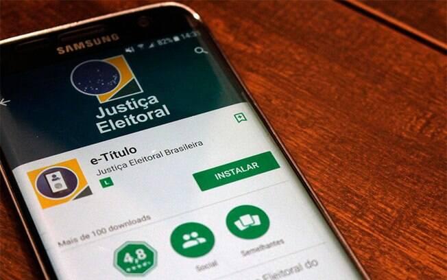 Aplicativo e-Título não funcionou para todos os brasileiros que precisaram justificar a ausência do voto