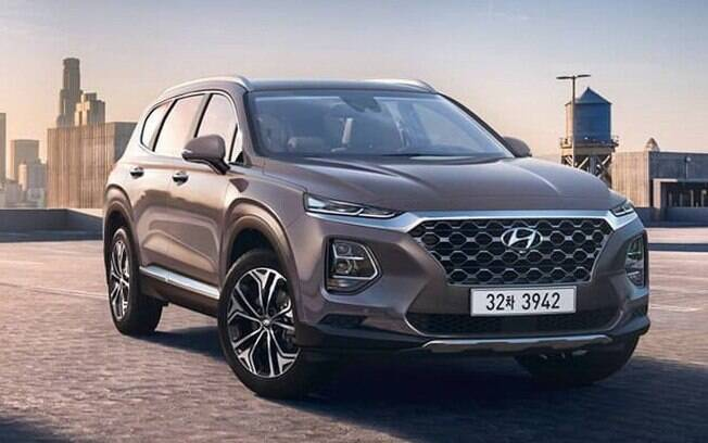Hyundai Santa Fe está prestes a desembarcar no Brasil e deverá ser novidade do Salão do Automóvel, em novembro