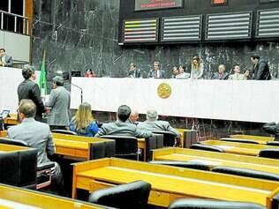 Plenário. Parlamentares se reuniram para votar, em média, uma vez por semana no primeiro semestre
