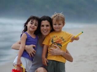 A empresária Roberta Suplicy faz questão de expor os filhos a programas culturais