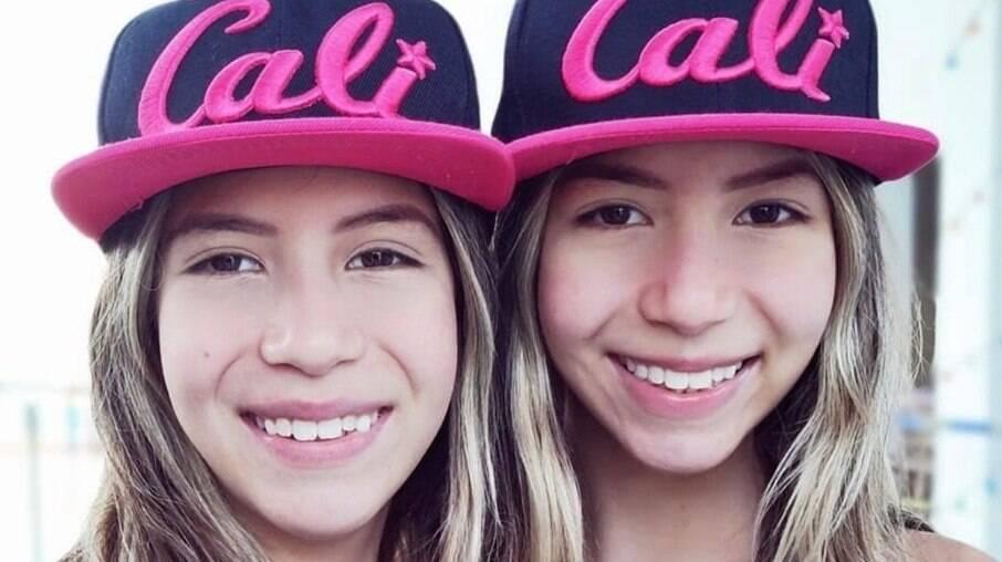 Melissa e Nicole, do canal Planeta das Gêmeas