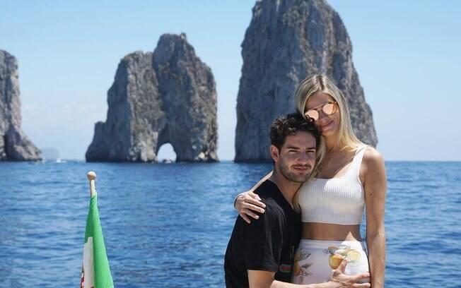Danielle Knudson e Alexandre Pato não estão mais namorando