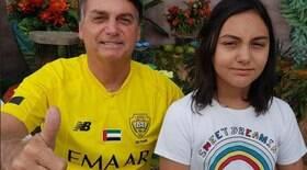 Filha de Bolsonaro entrará em escola sem processo seletivo