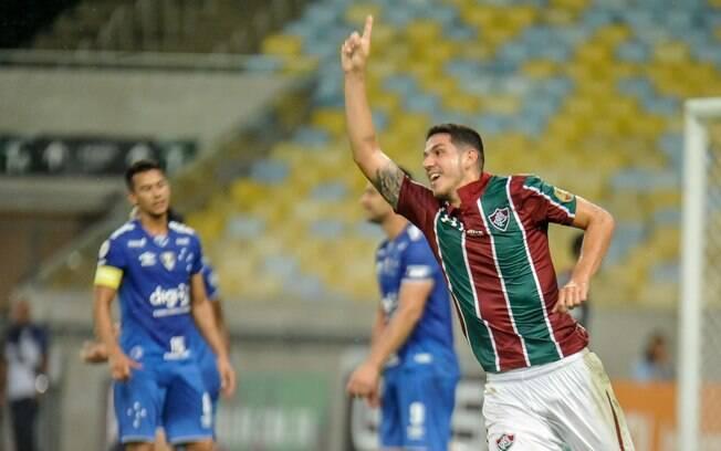 O Fluminense bateu o Cruzeiro pela 5ª rodada do Brasileirão