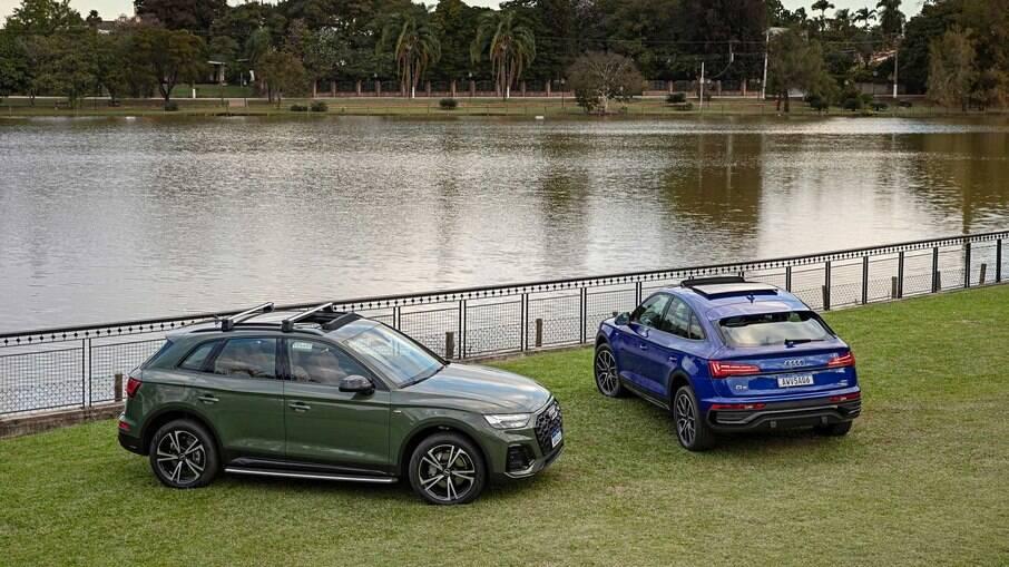 Audi Q5 parte de R$ 309.990 na versão SUV e R$ 369.990 no modelo Sportback
