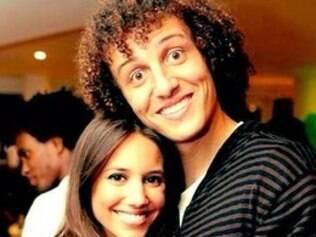 David Luiz e a namorada portuguesa, Sara Madeira
