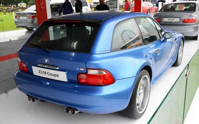 BMW Z3M Coupe: raríssima versão vinha com motor de seis cilindros, de 321 cv, também usado no esportivo M3