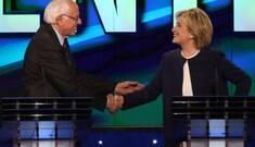 Hillary e Sanders se juntam por unidade entre os democratas