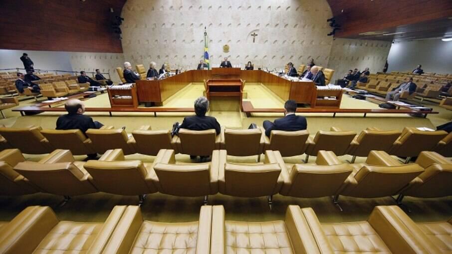 Julgamento está sendo realizado em plenário virtual