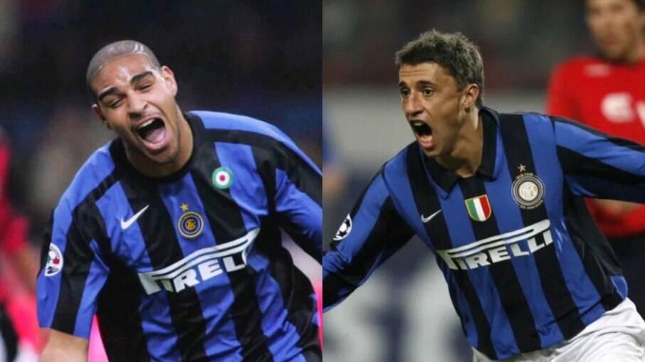 Adriano e Crespo hanno giocato insieme all'Inter
