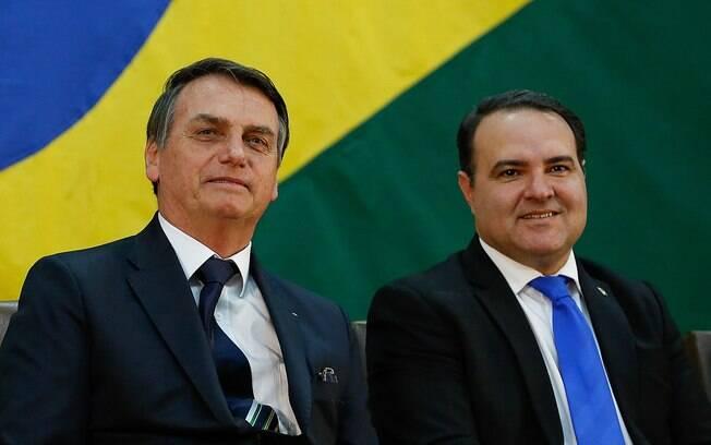 Jair Bolsonaro e Jorge Oliveira