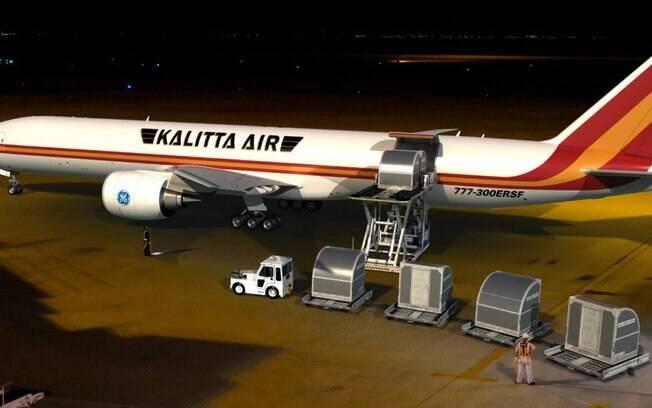 Kalitta será a primeira operadora do Boeing 777-300 cargueiro no mundo