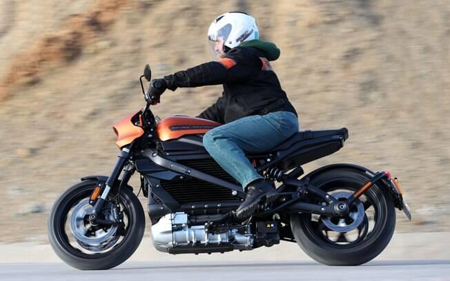 A Harley-Davidson LiveWire: A Harley do futuro é tudo o que já se imaginava