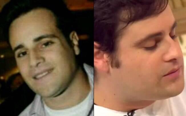 Rodrigo Scarpa: antes e depois do regime de engorda