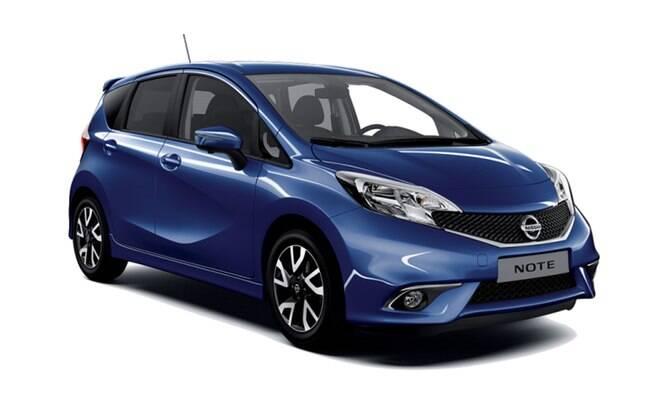 O Nissan Note deveria ter sido produzido no Brasil, para concorrer com o Honda Fit. Depois, viria importado do México
