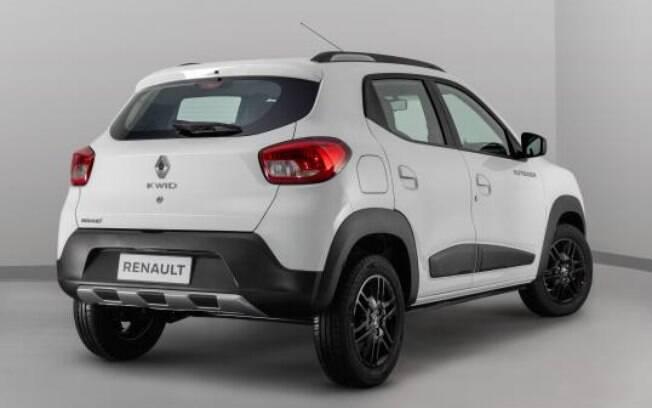Renault Kwid Ouusider. Foto: Divulgação