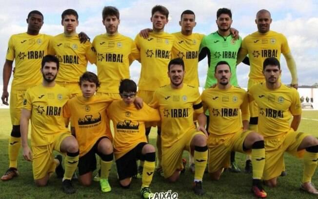 Beira-Mar, clube de Portugal, levou 2 meninos para treinar com a equipe principal