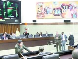 Câmara já entrou de recesso, após a aprovação da proposta da LDO
