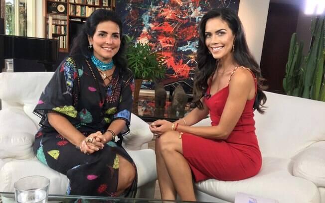 Thereza Collor e Daniela Albuquerque