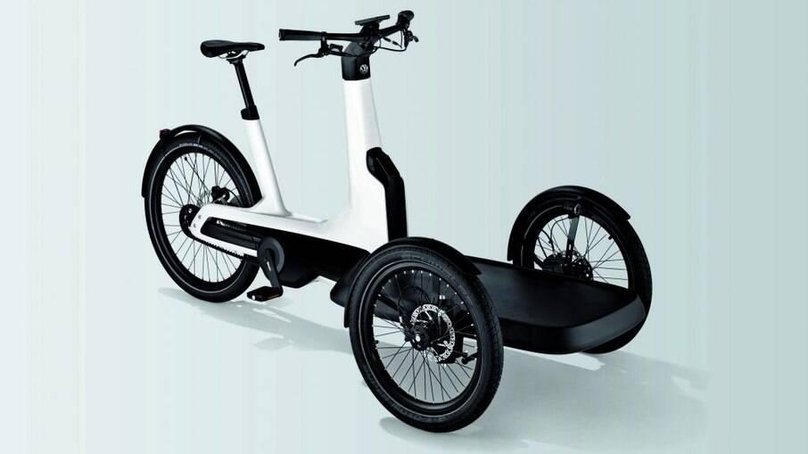 VW Cargo e-Bike: Com autonomia de 100 km, atinge uma velocidade máxima de 25 km/h e pode levar até 210 kg