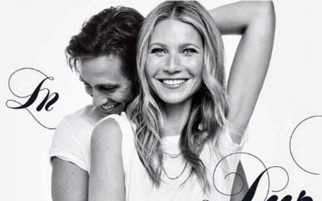 Publicação de Gwyneth Paltrow no instagram para anunciar o noivado com Brad Falchuk