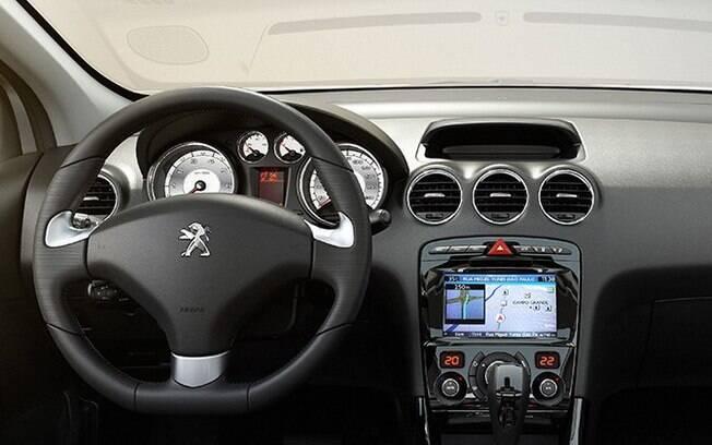 Interior do Peugeot 308