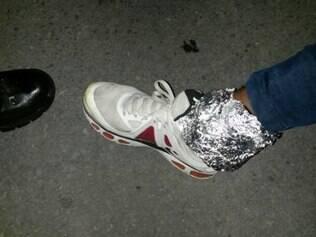 Foragido enrolou papel-alumínio em tornozeleira para bloquear sinal de localização