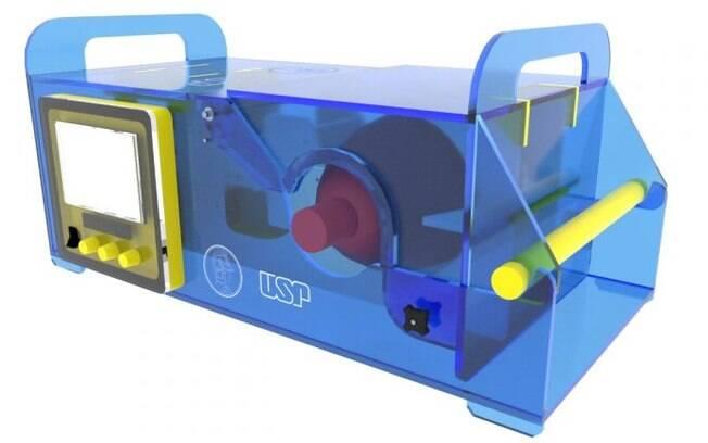 Respirador desenvolvido pela Poli-USP