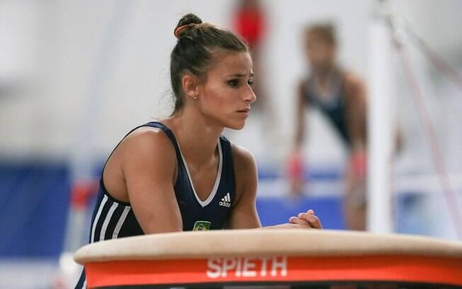Jade Barbosa, atleta da ginástica olímpico