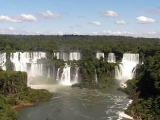 Dá para votar nas Cataratas do Iguaçu por SMS