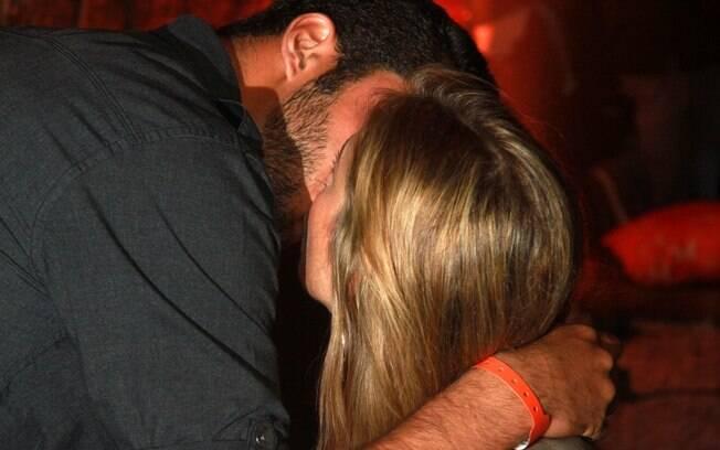 Luana e o namorado Pedro Scooby